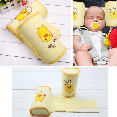 Baby Comfortable Anti Roll Over Pillow Newborn Infant Safe Sleep Travel NEW