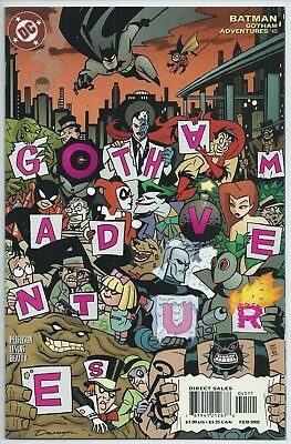**batman Gotham Adventures #45**(Feb 2002, Dc)**harley Quinn**low Print Run**nm+