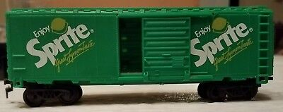 Coca Cola Ho Scale Express Limited #2 Green Box Car W/sprite Advertisement.