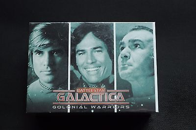 Battlestar Galactica: Colonial Warriors COMPLETE BASE SET WITH WRAPPER