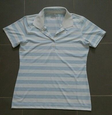 NIke Womens Golf Polo Top Dri-fit Ladies Size M