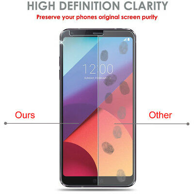 [1-5Pack] Super Shield For LG G6 G5 G4 REAL Tempered Glass Screen Protector Film