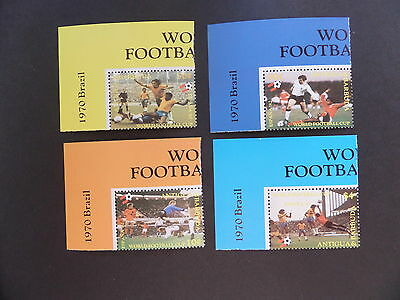 Antigua & Barbuda 1982 world Cup Football SG733/6 from sheetlets MNH UM