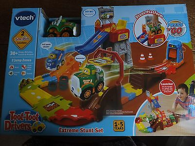 Vtech - Toot-Toot Drivers - Extreme Stunt Set - Childs Playset - Suitable 1-5 Yr