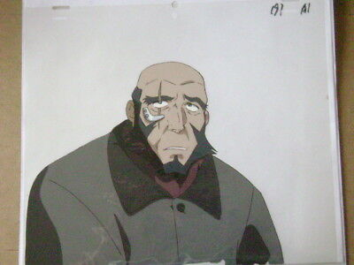 Cowboy Bebop Jet Anime Production Cel 8