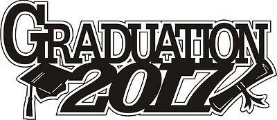 Graduation 2017 **NEW** - Laser Cut for Scrapbooking/Cardmaking