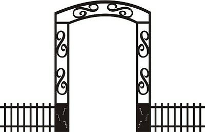 Gateway (Halloween/Gothic) - Laser Cut for Scrapbooking/Cardmaking