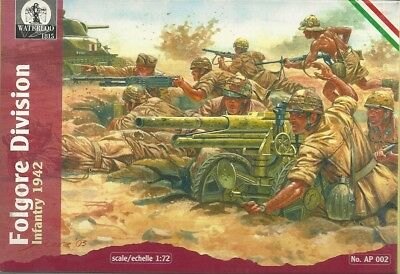 Waterloo 1815 - 002 - Folgore Division Infantry 1942 - 1:72