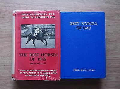 "Timeform ""best Horses Of 1945"" Almost Fine In An Original  Protected Dust Jacket"