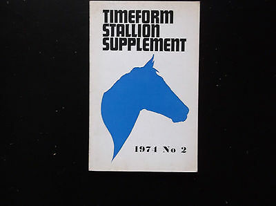 TIMEFORM STALLION SUPPLEMENT 1974 No 2