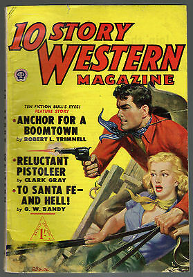 10 Story Western Magazine No.8, Pemberton's October 1951