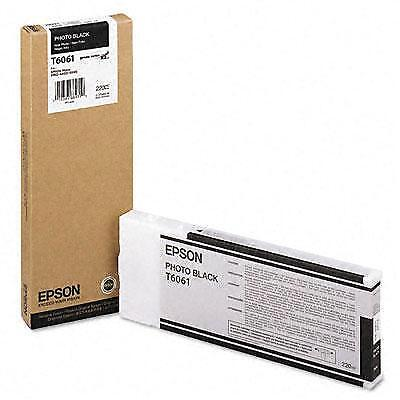Epson America - T606100 - Photo Blk Ultrachrome K3 220mL