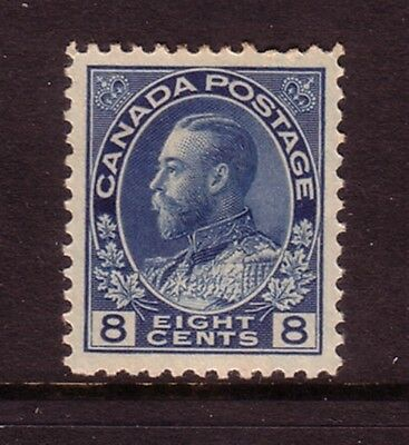 CANADA....  1922-31  8c blue mng