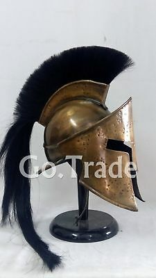 Greek Spartan King Leonidas 300 Movie Medieval Roman Helmet Medieval Gift Item