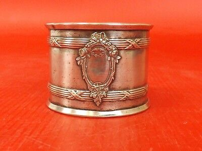 Antique French Sterling Silver. Napkin Ring. Louis XVI Style