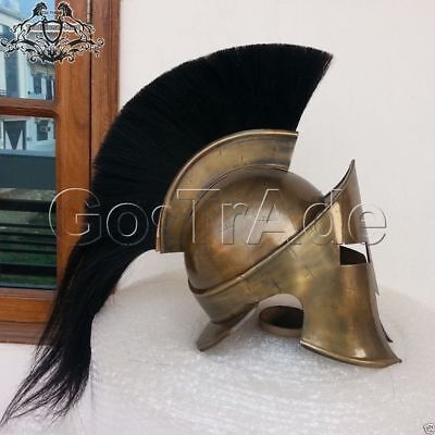 300 Movie Spartan King Leonidas Medieval Roman Helmet Movie Replica Helmet Gift