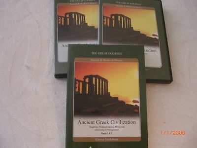 ANCIENT GREEK CIVILIZATION-- DVD Great Courses #323