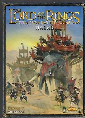 LORDS of the RINGS Strategy Battle ame Harad livre jeux rôle Games Workshop
