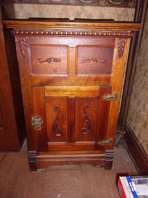 Antique ca 1880's Ornate ICEBOX / CHEST - taking offers !