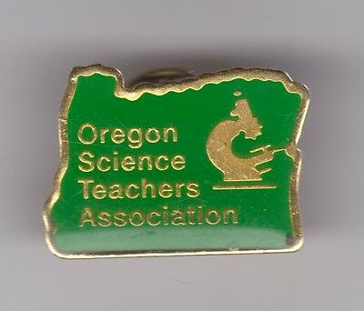 OREGON SCIENCE TEACHERS ASSOCIATION Enamel Pin