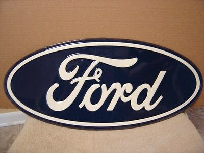 """Ford Oval...vintage Look Metal Sign.......20"""" X 9"""" Oval"""