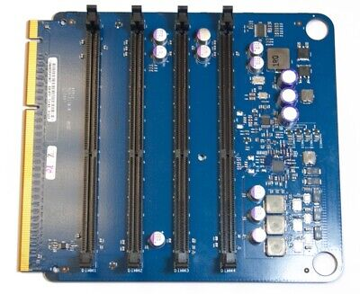 Memory Riser Card Board Apple Mac Pro 3,1 2008 RAM Speicher Karte