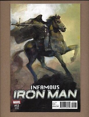 Infamous Iron Man #12   Variant   Nm