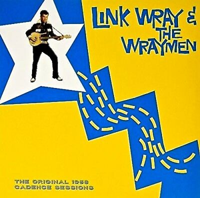 LINK WRAY & THE WRAYMEN The Original 1958 Cadence Sessions - NEW VINYL  LP