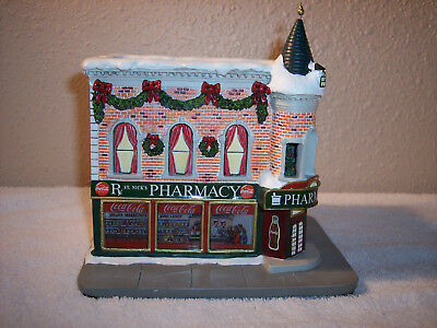 "Hawthorne Village Coca-Cola Holiday Village Collection ""St. Nick's Pharmacy"""