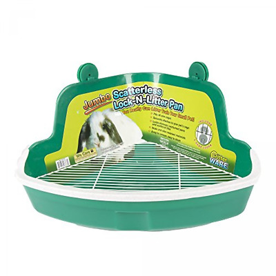 Ware Manufacturing Plastic Scatterless Lock-N-Litter Bigger Pet Pan, Jumbo -