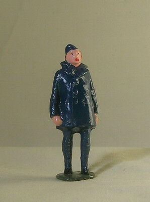 RAF Royal Air Force Rigger, model train or plane figure, Reproduction Johillco