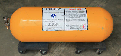CNG Tank. 5.8 GGE. New with DOT Tag. Exp 2032. Tank and fill valve included.