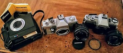 Vintage Camera and Lens Lot mixed ANTIQUES