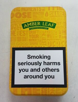 Amber Leaf Tobacco Tin 12.5g