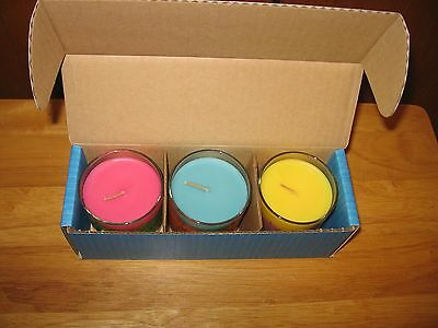 Partylite Discovery Scented Candle Trio-P95583