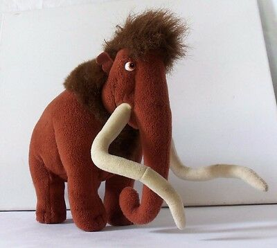 Ice Age Manfred Male Mammoth Plush Soft Toy TV Film Animal Figure Mattel Doll