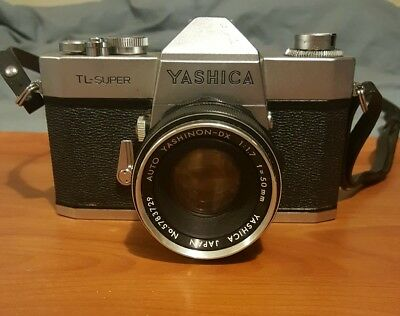 Yashica TL-SUPER Camera with Auto YASHINON-DX 50mm Lens