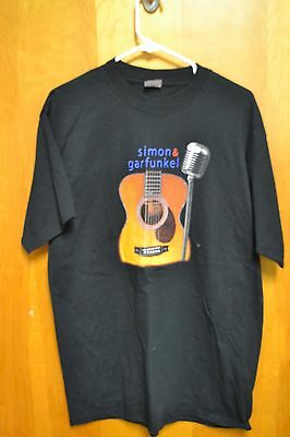 Simon and Garfunkel 2003 Tour T Shirt Men's Large