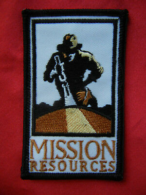 MISSION RESOURCES  oilfield patch 3-1/2 X 2