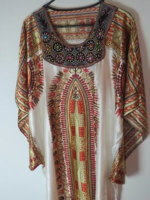 b7677aeae1 Women s Caftan Dress Kaftan dashiki Hippie Boho Maxi Gown Beach Cover Plus  size