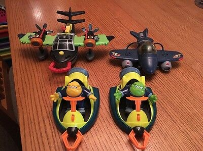 Fisher Price Planet Heroes Planes Alien Figures Space Ships Vehicles