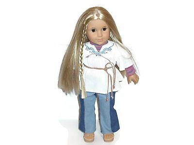 """18"""" American Girl Julie Albright Doll in Meet Outfit"""