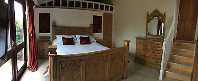 "Luxury Four Bed Lodge 43"" Lcd Tv Spa Bath North Devon"