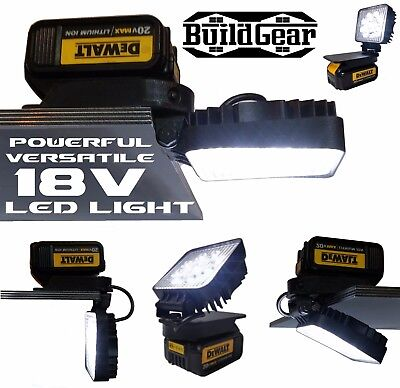 Dewalt Adapt Work Light 18v / 20v Max Compact Torch Light Floodlight Security