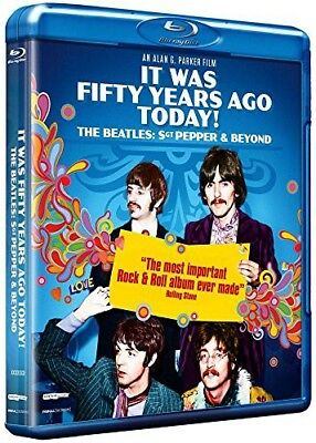 Blu-ray It Was Fifty Years Ago Today ! The Beatles: Sgt Pepper and Beyond