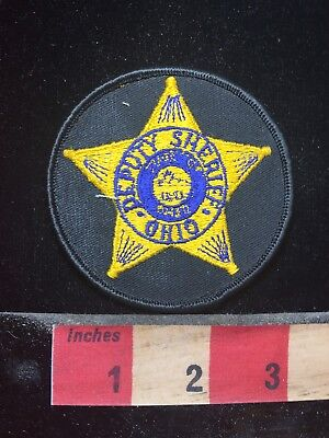 State Of Ohio Deputy Sheriff Patch 77P5