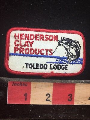 HENDERSON CLAY PRODUCTS Toledo Lodge - Ohio Patch 77P5