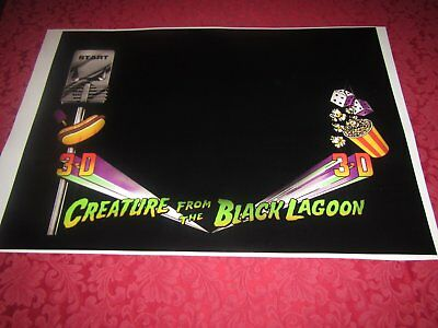 Pinball Part Front Creature Decal