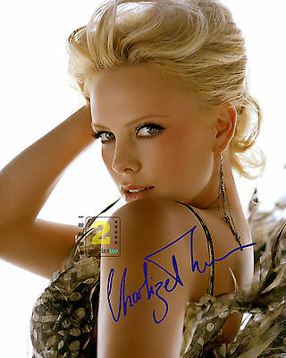 "Charlize Theron Signed 8""x 10"" Color PHOTO REPRINT"