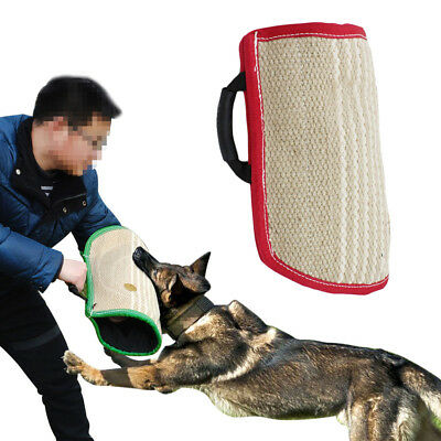 Young Police Dog Bite Sleeve Protection Arm Intermediate For Training Walking